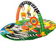 Детский коврик с погремушками FC004-1