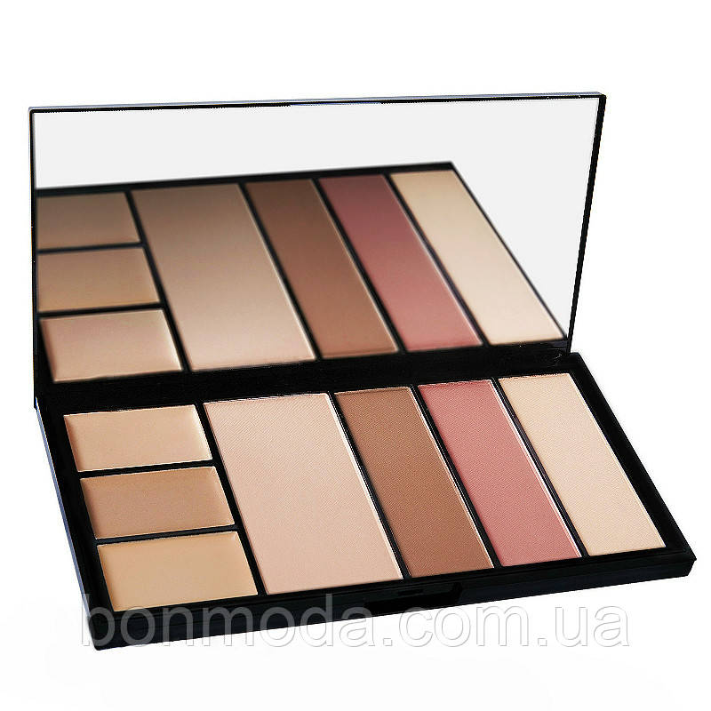 "Палитра для коррекции лица Malva Cosmetics Protection Palette ""M-470"" № 03"
