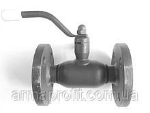 Кран шаровый стальной стандартнопроходной фланцевый BALLOMAX Ду15 Ру16