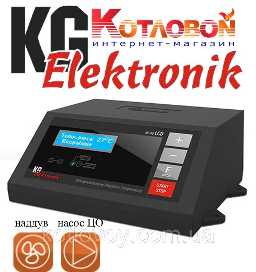 Блок управления твердотопливным котлом KG Elektronik