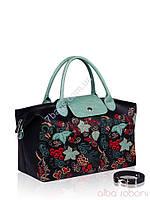 Стильная дамская сумка из первоклассной черной кожи (PU)  Alba Soboni