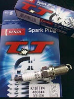 Свеча зажигания (производство Denso ), код запчасти: K16TT4