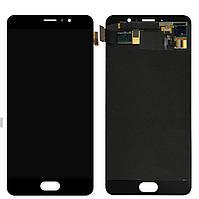 Дисплей (экран) для Meizu Pro 6 Plus (M686) + с сенсором (тачскрином) черный Оригинал