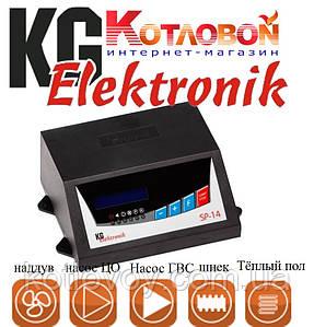 Блок управления твердотопливным котлом KG Elektronik SP-14