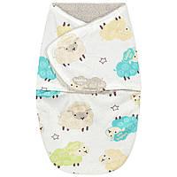 Флисовая пеленка - кокон на липучках Berni