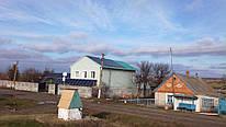 Сетевая солнечная электростанция под ''зелёный'' тариф мощностью 10 кВт в с. Конские Раздоры Запорожской области