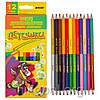 Набор цветных карандашей MARCO Пегашка 1011-12CB, 24 цвета
