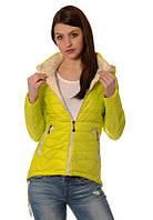 Женская куртка. Лимонная осень.