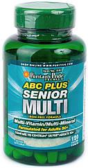Puritan's Pride Витамины и Минералы ABC Plus Senior Multi 120 caplets