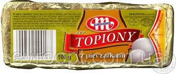 Сыр плавленый Mlekovita с грибами. 60%. 100г