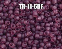 Бисер круглый TR-11-6BF