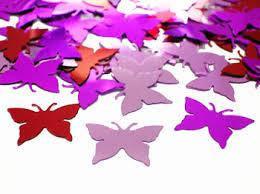 Конфетти бабочки