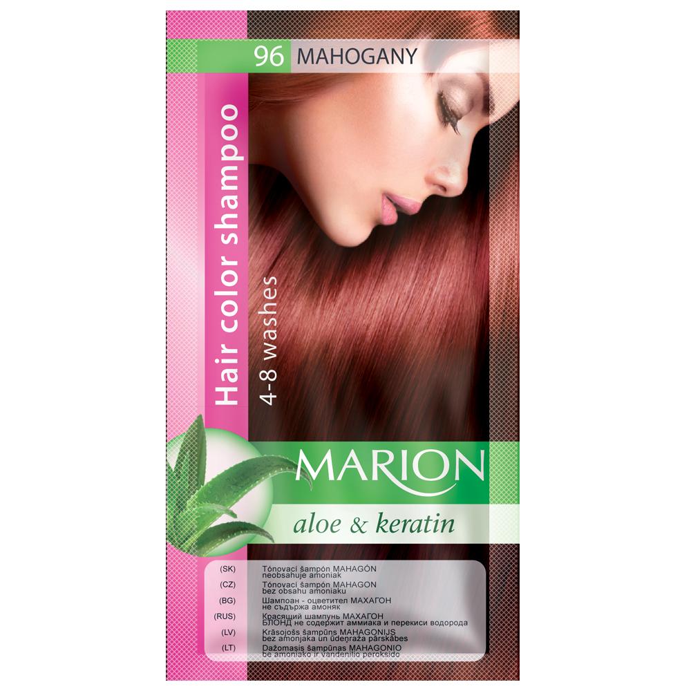 Оттеночный шампунь Marion Color № 96 Махагон 40 мл (4118014)