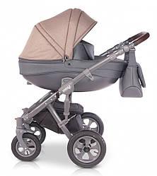 Детская коляска унивесальная 2 в 1 Verdi Avenir 04 beige (Верди, Польша)