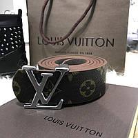 Темный ремень луи витон, ремень Louis Vuitton