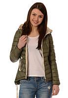 Женская куртка. Зеленая осень.