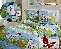 Стеганное покрывало-одеяло для детей Далматинцы (160х212) (Pokryvalo-010)
