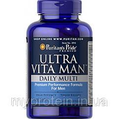 Puritan's Pride Витамины для мужчин Ultra Vita Man Time Release 90 caplets