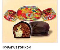 """Конфеты """"Курага с орехом в шоколаде"""", 0.25 кг"""