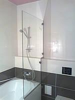 Душевое ограждение для ванной, перегородка-шторка душевой кабины