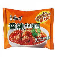Лапша быстрого приготовления 100г с мясом и овощами  Kang Shifu (康師傅)