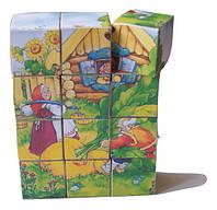 """Деревянные развивающие кубики """"Репка"""""""