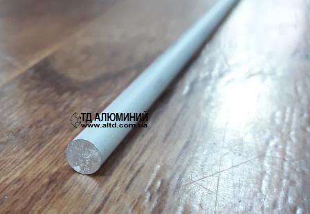 Пруток алюминиевый 6мм / анод серебро