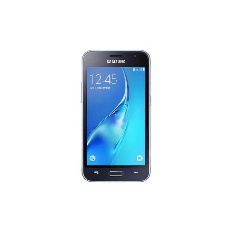 Смартфон на 2 сим карты 4,5 дюйма 4 ядра 1/8Gb Samsung Galaxy J1 2016 duos SM-J120 чёрный