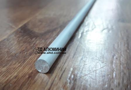 Кругляк алюминиевый 8мм / анод серебро