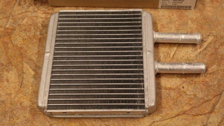 Радиатор печки Chevrolet Авео алюминиевый SHIN KUM