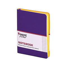 """Блокнот """"Axent"""" 80 листов """"Partner Soft Mini"""" 115*160 клетка, фиолетовый №8205-11-А"""