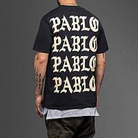 Футболка чёрная принт I Feel Like Pablo топ, фото 1