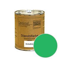 Стандолевая масляная краска полужирная / нижний слой / Schlussanstrich grün, зеленый   0,375 l
