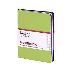 """Блокнот """"Axent"""" 80 листов """"Partner Soft Mini"""" 115*160 клетка, салатовый №8205-09-А"""