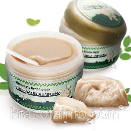 Коллагеновая, подтягивающая, омолаживающая маска Elizavecca Green Piggy Collagen Jella Pack, Корея