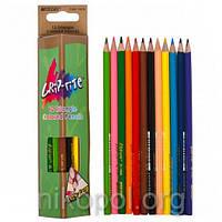 Набор цветных карандашей MARCO Grip-rite 9100-12CB, 12 цветов