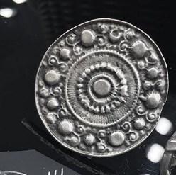 Кольцо с многослойным серебряным покрытием
