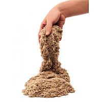 Кинетический песок коричневый - 1000 грамм