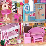 Кукольный домик для барби+лифт +2куклы в подарок.Дом для кукол барби, фото 8