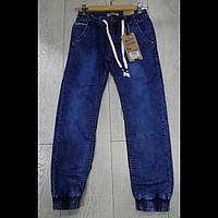 Джинсовые брюки на манжете для мальчиков оптом GRACE