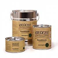 Стандолевая масляная краска полужирная / нижний слой / Schlussanstrich tannengrün, темно-зеленая  2,5 l