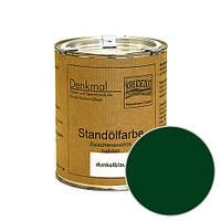 Стандолевая масляная краска полужирная / нижний слой / Schlussanstrich tannengrün, темно-зеленая  0,375 l
