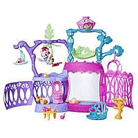 Игровой набор Замок Мерцание с русалкой Пинки Пай My Little Pony The Movie Seashell Lagoon Playset Оригинал