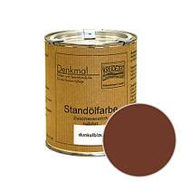 Стандолевая масляная краска полужирная / нижний слой / Schlussanstrich braun, коричневая 0,375 l