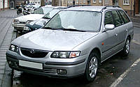 Стекло передней дверилевой Mazda 626 GW 1997-2002г.в. комбі