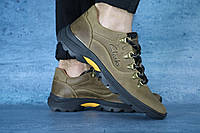 Мужские повседневные ботинки Clarks (оливка), ТОП-реплика, фото 1