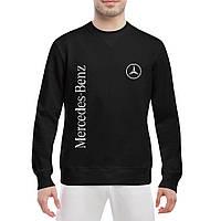 b5921bc32e41 Свитшот мужской - Mercedes-Benz logo, отличный подарок купить со скидкой,  недорого