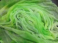 Женский шифоновый шарф  легкая жатка  150*50 см