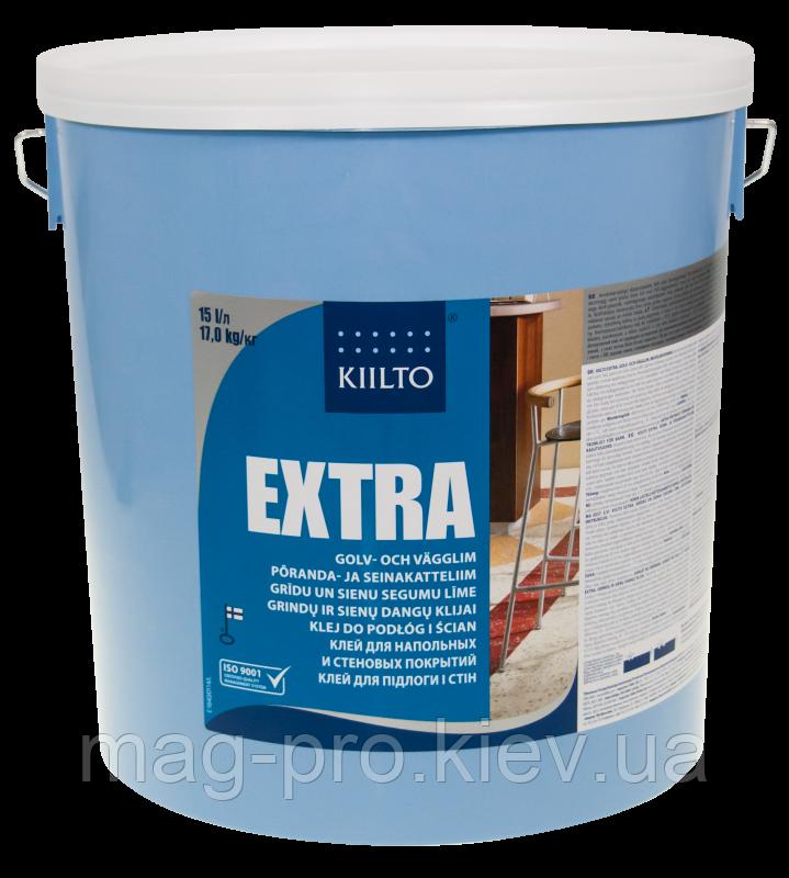 Kiilto Extra клей для напольных и настенных покрытий 15 l