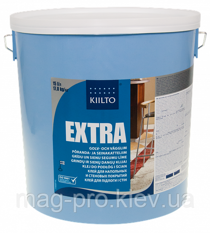 Kiilto Extra клей для напольных и настенных покрытий 15 l, фото 2